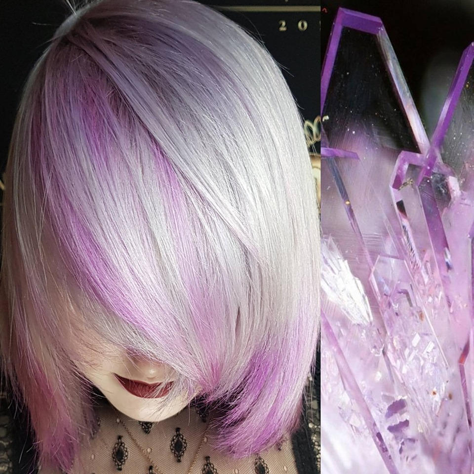 Pulp Riot lilac smoke clear